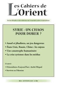 CO 116 - Syrie : un chaos pour durer ?